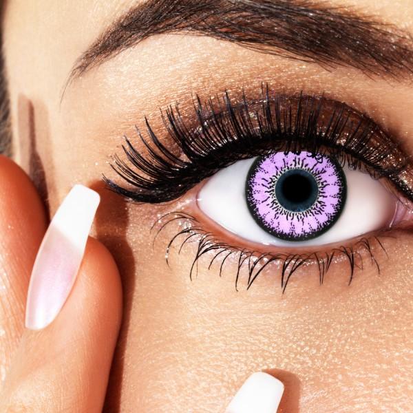 violet elegance farbige kontaktlinsen mit st rke. Black Bedroom Furniture Sets. Home Design Ideas