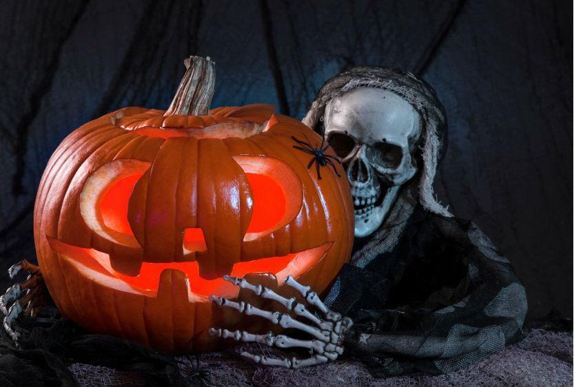 halloween deko unheimliche stimmung. Black Bedroom Furniture Sets. Home Design Ideas